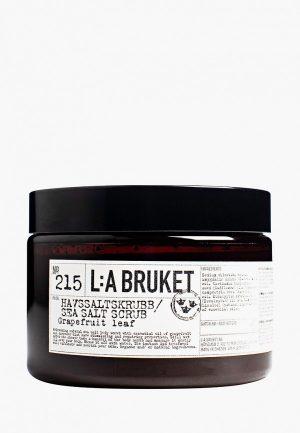 Скраб для тела La Bruket 215 GRAPEFRUIT LEAF Havssaltskrubb 420 g