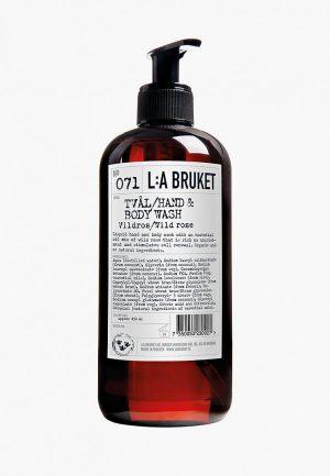 Жидкое мыло La Bruket Жидкое мыло для тела и рук 071 VILDROS/WILD ROSE 450 мл
